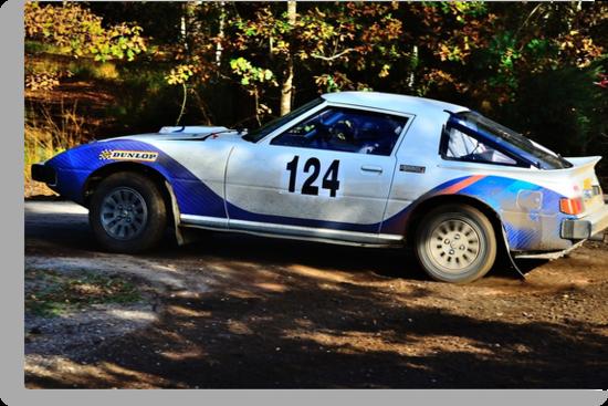 Mazda RX7 No 124 by Willie Jackson
