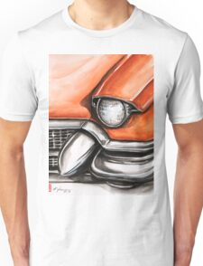 Red Cadillac Unisex T-Shirt