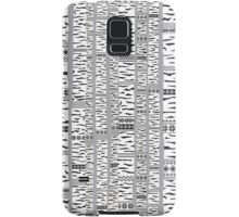 Birch forest Samsung Galaxy Case/Skin