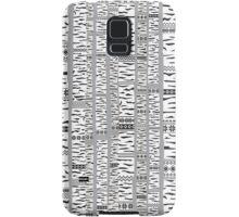 Birch forest Samsung Galaxy Case/Skin