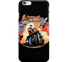 Motorcycles and dinosaurs iPhone Case/Skin