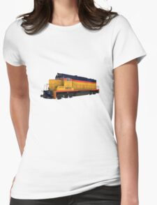 Railroad / Train Engine Womens Fitted T-Shirt