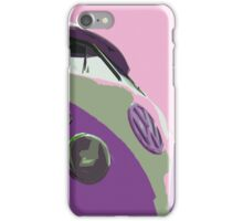 Sky Pink Split iPhone Case/Skin