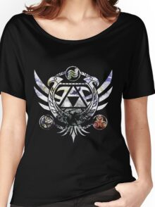 The Legend of Zelda Triforce Women's Relaxed Fit T-Shirt