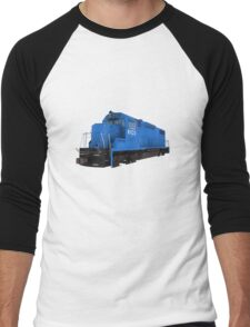 Railroad / Train Engine Men's Baseball ¾ T-Shirt