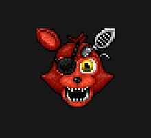 Adventure Withered Foxy - FNAF World - Pixel Art by GEEKsomniac