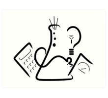 Science Fair Logo Art Print