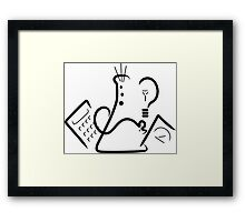 Science Fair Logo Framed Print