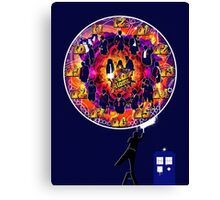 Timelord Timepiece - DW Banksy Canvas Print