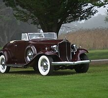 1932 Packard 900 Convertible 2 by DaveKoontz