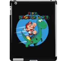 Super Dinosaur World iPad Case/Skin