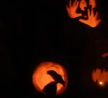 Halloween Carvings by Mellinda
