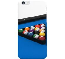 Billiards / Pool Balls on Table iPhone Case/Skin