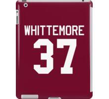 Jackson Whittemore's Jersey - white text iPad Case/Skin