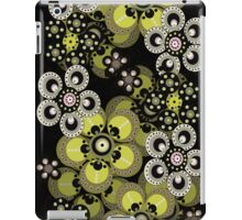 Peridot Green Fantasy Flowers iPad Case iPad Case/Skin