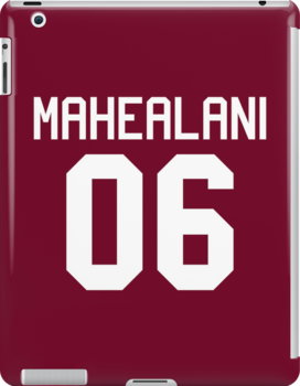 Danny Mahealani Jersey - white text by sstilinski