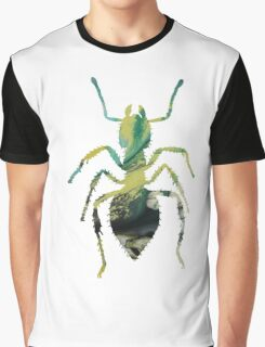 Abstract colorful ant painting Graphic T-Shirt