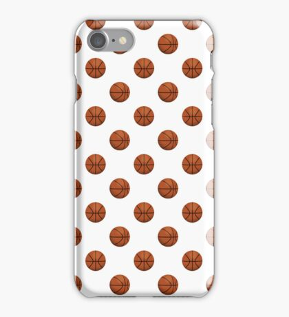 Basketball Pattern iPhone Case/Skin