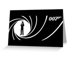 007 James Bond Greeting Card
