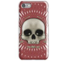 Skull with Tribal Graphics iPhone Case/Skin