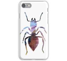 Abstract colorful ant painting iPhone Case/Skin