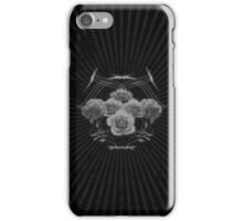 Halftone Roses and Tribal Graphics iPhone Case/Skin