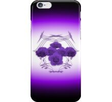 Roses and Tribal Graphics iPhone Case/Skin