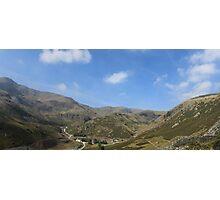 Coniston Coppermines Valley Panorama Photographic Print