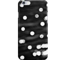 Black glitter iPhone Case/Skin