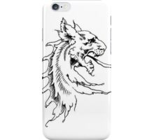 Vintage Lion Dragon Head phone iPhone Case/Skin