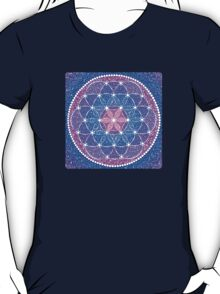 Starry Flower of Life T-Shirt