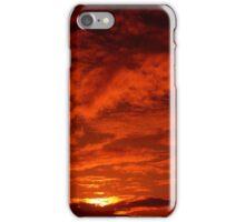 Red Sky North Sea iPhone Case/Skin