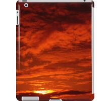 Red Sky North Sea iPad Case/Skin