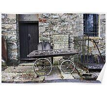 Old Wheelbarrow Poster