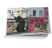 Banksy Pub, Liverpool Greeting Card