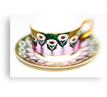Art Deco Cup & Saucer Canvas Print