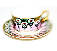 Art Deco Cup & Saucer Photographic Print