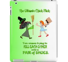 Dorothy and Elphaba - Typical girls... iPad Case/Skin
