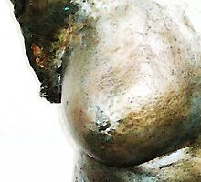 Bronze Bust 1 by Sharon Cummings