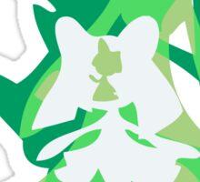 PKMN Silhouette - Ralts Family Sticker
