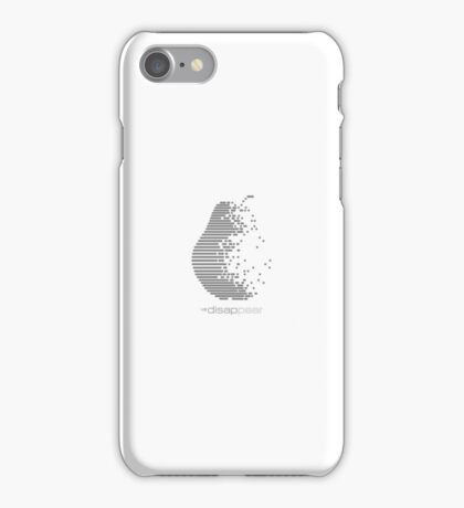 disap::pear iPhone Case/Skin
