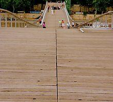 A bridge for pedestrians by bubblehex08