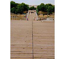 A bridge for pedestrians Photographic Print