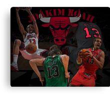 Chicago Bulls - Joakim Noah Poster Canvas Print