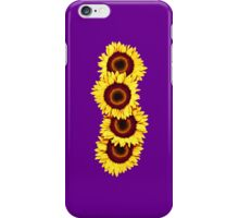Iphone Case Sunflowers - Purple Haze iPhone Case/Skin