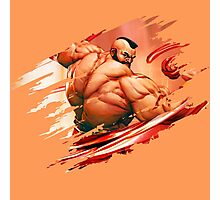 Zangief Photographic Print