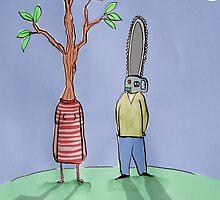 destructive relationship by Loui  Jover