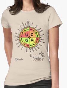 Genetic Code Womens Fitted T-Shirt