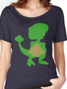 PKMN Silhouette - Shroomish Family Women's Relaxed Fit T-Shirt