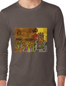 I'll Take Three Cups of Java Please Long Sleeve T-Shirt